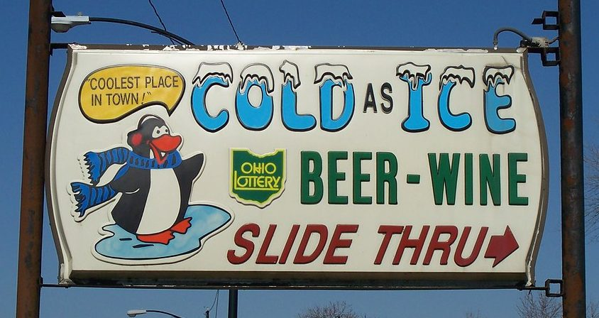 Cold As Ice – Drive-Through Shopping in Ohio